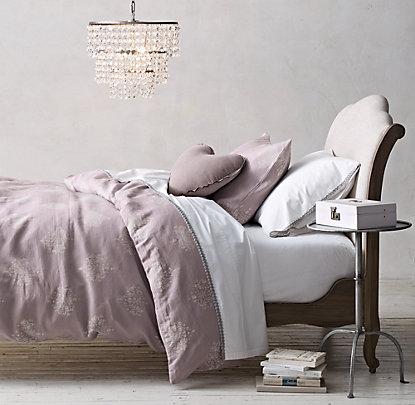 chandelier damask bedding collection  rh baby  child, Lighting ideas