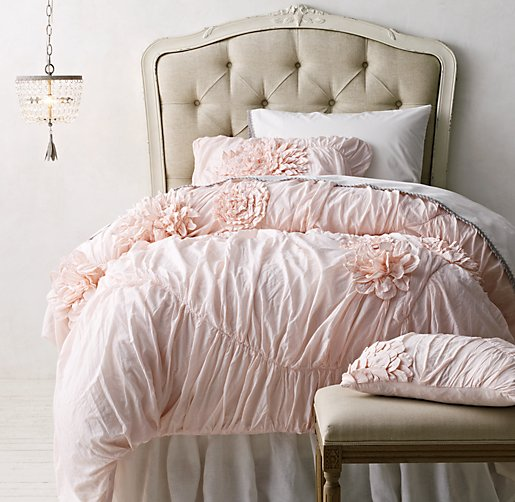 Washed Appliqu 233 D Fleur Amp Vintage Crochet Bedding Collection