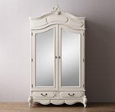Marielle Armoire With Mirror Doors