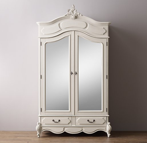 marielle armoire with mirror doors click to zoom