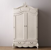 Marielle Armoire with Wood Doors