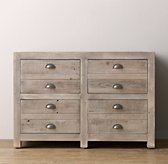 Weller Double Drawer Base