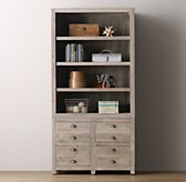 Weller Double Open Shelves Top
