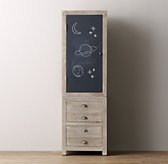 Weller Single Chalkboard Cabinet Top