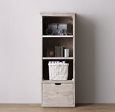 Tribeca Storage Single Bookcase Set