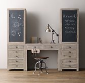 Weller Study Wall Set, Chalkboard Cabinet Tops