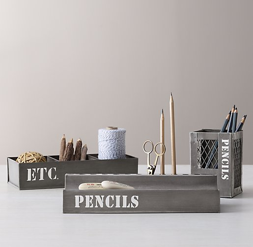 Industrial Metal Desk Accessories