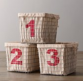 Industrial Shelf Basket Set of 3