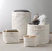 Nursery Canvas Storage - Grey Star