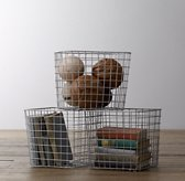 Industrial Shelf Basket