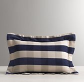 Windsor Plaid Boudoir Sham