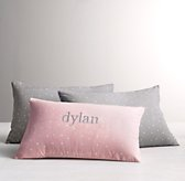 Dotted Voile Boudoir Sham
