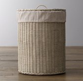 Textured Cotton Rutherford Hamper Liner