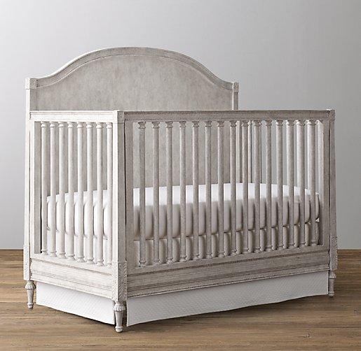 Bellina arched conversion crib vintage grey