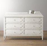Bellina Wide Dresser & Topper Set