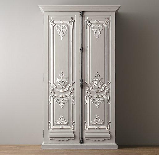 19th C Rococo Armoire