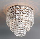 Soho Crystal Large Flushmount
