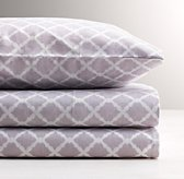 Trellis Percale Standard Pillowcase