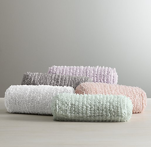 bolster product pillow cover linen seafoam