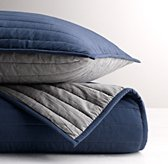 Reversible Channel Quilted Sham