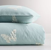Stamped Butterfly Duvet Cover