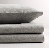 Heathered Jersey Standard Pillowcase