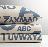 Jersey Letter Standard Pillowcase