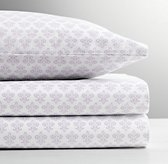 Paisley Print Percale Standard Pillowcase