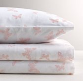 Stamped Butterfly Sheet Set