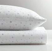 Star Print Crib Fitted Sheet