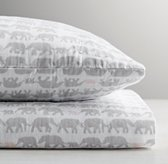 Elephant Print Crib Fitted Sheet