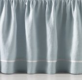 Piped Solid Crib Skirt