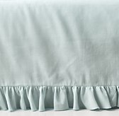 Frayed Ruffle Crib Skirt