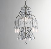 Cerise White Quartz Chandelier