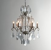 Eveline Mercury Glass Chandelier