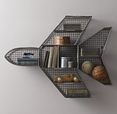 Industrial Wire Cubby Jet Shelf