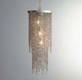 Athena Crystal Grand Chandelier Smoke