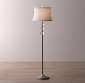 Lourdes Crystal Ball Floor Lamp Base