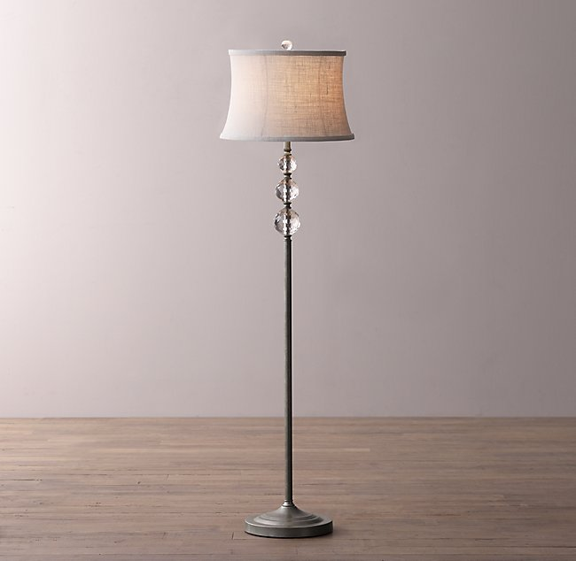 pbteen products crystal c ball table lamp