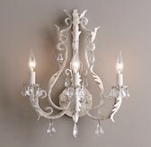 Palais Sconce Rustic White