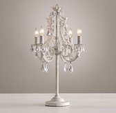 Palais Table Lamp - Rustic White