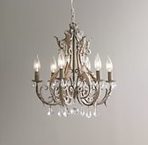 Palais Small Chandelier Aged Metal