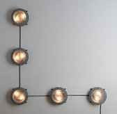 Wall-Mounted Vintage Headlights 5
