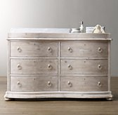 Ariane Wide Dresser & Topper Set