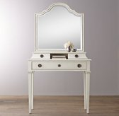 Haylan Writing Desk & Mirror Hutch