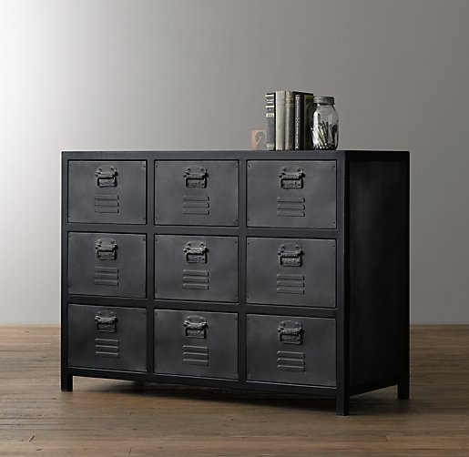 Vintage Locker Dresser