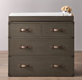 Wilkes Trunk Dresser & Topper Set
