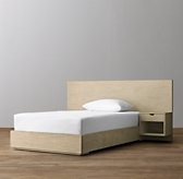 Callum Floating Nightstand Platform Bed