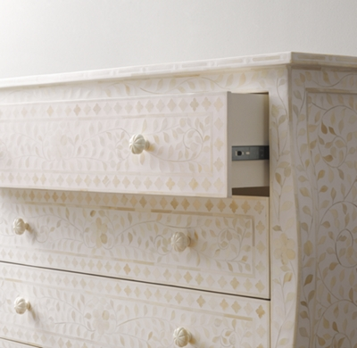 credenza bone dresser shipping products inlay fullxfull free furniture sideboard four floral il moroccan drawers