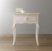 Amira Mosaic Inlay Side Table